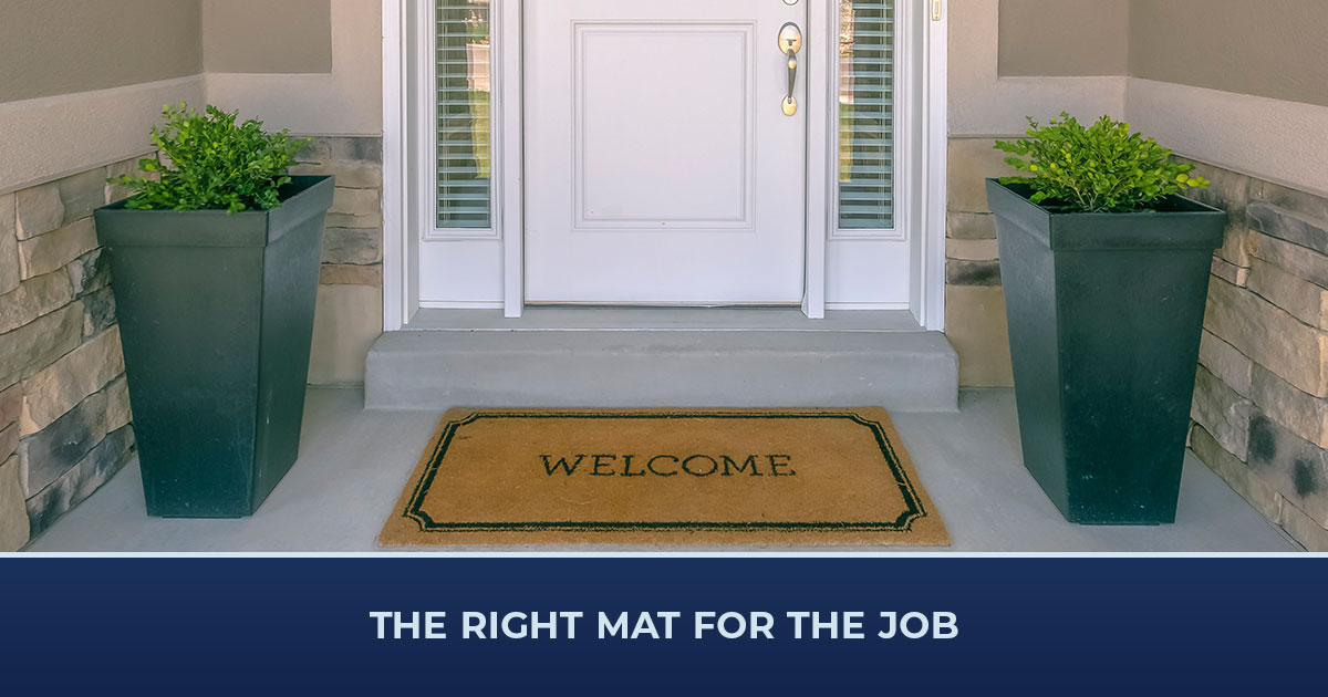 The Right Mat for the Job
